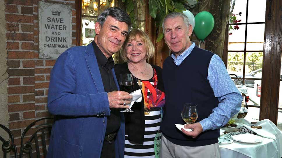 Craig & Eva Quackenbush, Dennis Johnston