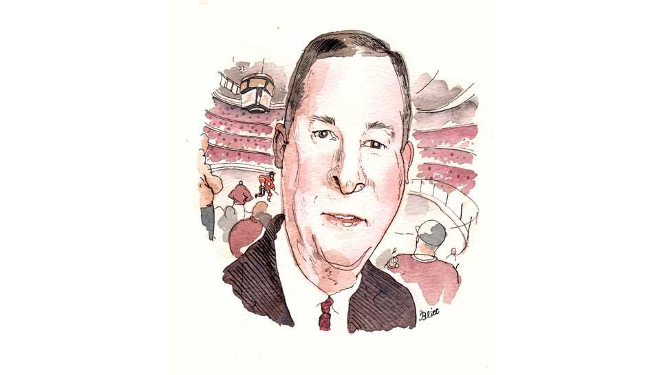 Greg Hanrahan Illustration by Barry Blitt