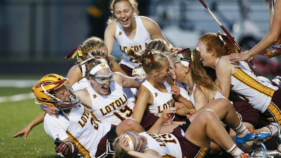 Sportsfolio: Loyola girls win state lacrosse title
