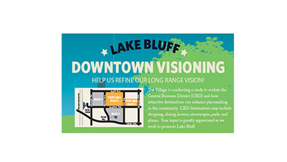 Lake Bluff Vision: Please Pitch In