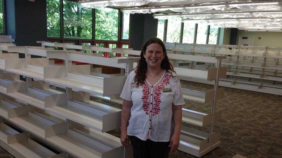 Wilmette Library Is Open Despite Construction