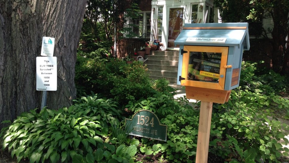Wilmette's Little Free Libraries