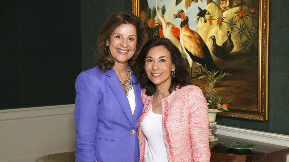 Marcia Moore and Amy Tsarwhas