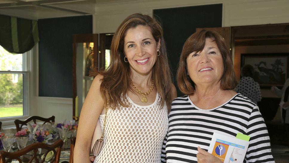 Amy Collis and Glenda Henderson