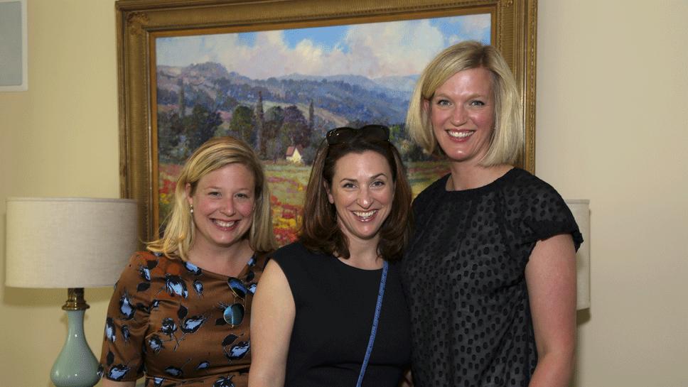 Kirstin McCain, Jane Duncan, and Kristin Ryan