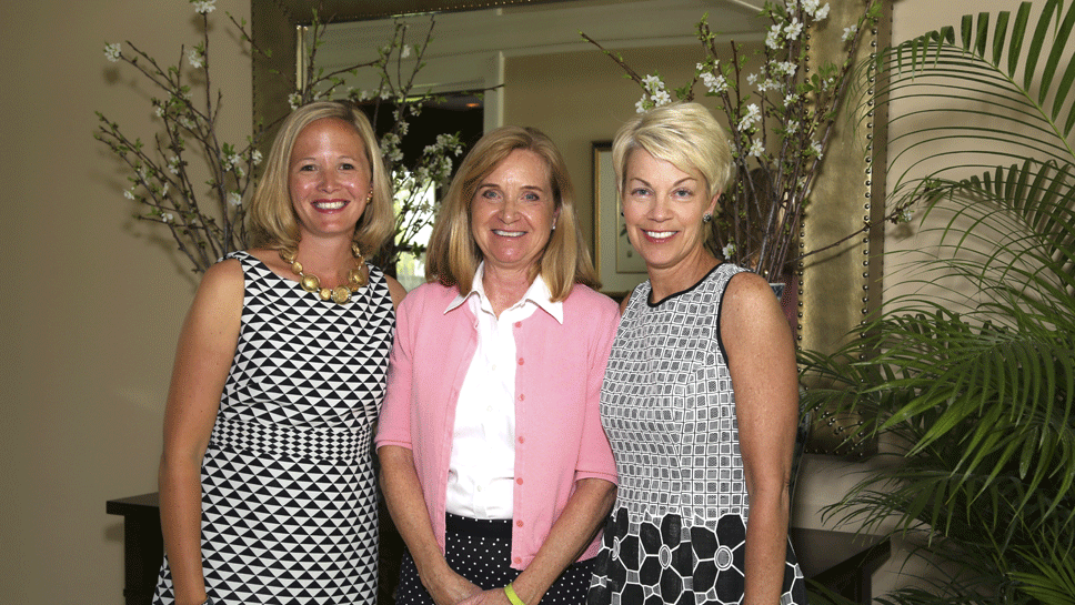 Event Chairs Emily Savage, Judy Kernahan, and Diana Webb