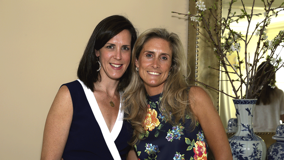 Lauren Peters and Michelle Glyman