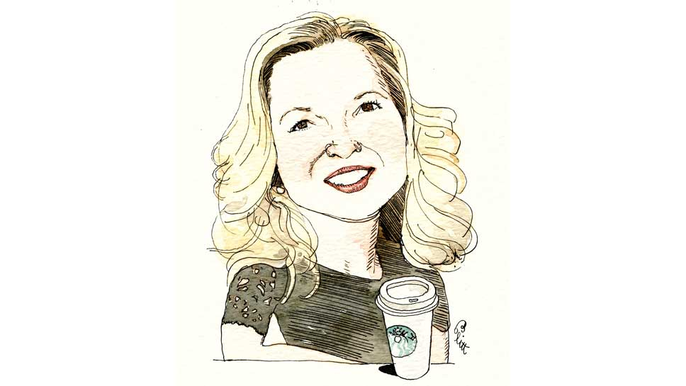 Margaret McMullan Illustration by Barry Blitt