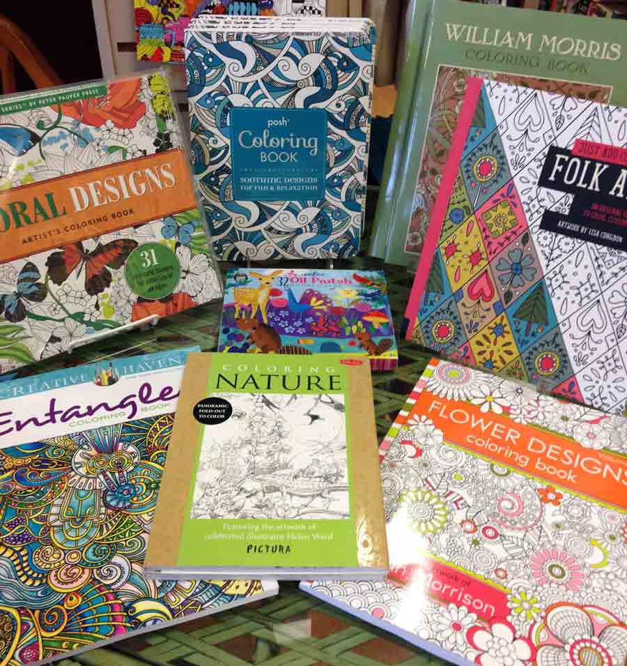 Coloring Books For Grownups At Lake Forest Book Store