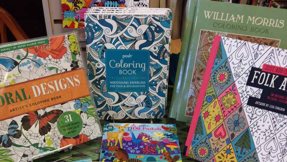 Coloring Inside The Lines at Lake Forest Book Store and The Book Stall in  Winnetka