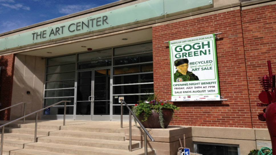 The Art Center is located at 1957 Sheridan Road, Highland Park