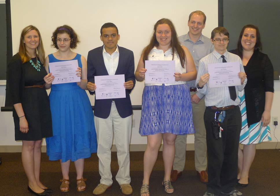Class of 2015 graduates and staff of the Project SEARCH Collaborates for Autism program at Northwestern University. Photo submitted by Have Dreams