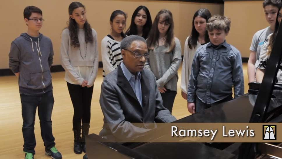 Ramsey Lewis Trumpets Anti-Bullying