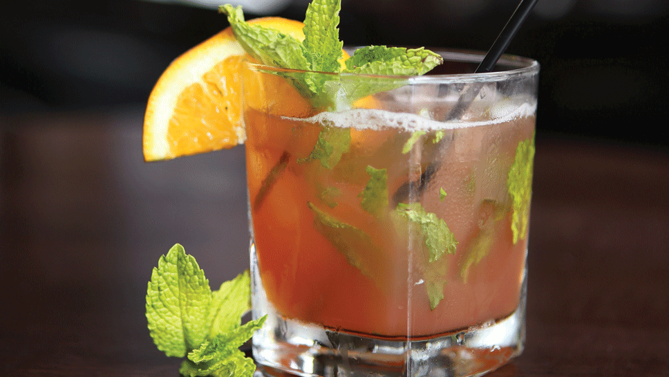 Bourbon Blood Orange Blast