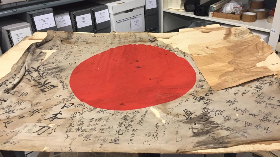 NT Seeks to Reunite Japanese Flag