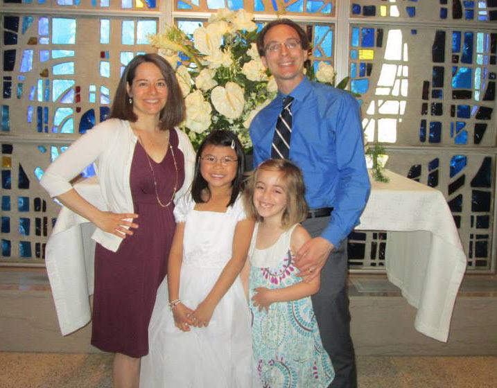 From left; Kelly; Athena; Kallista, and Davis.