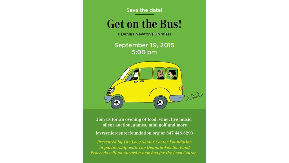 Levy Center Parties For New Bus