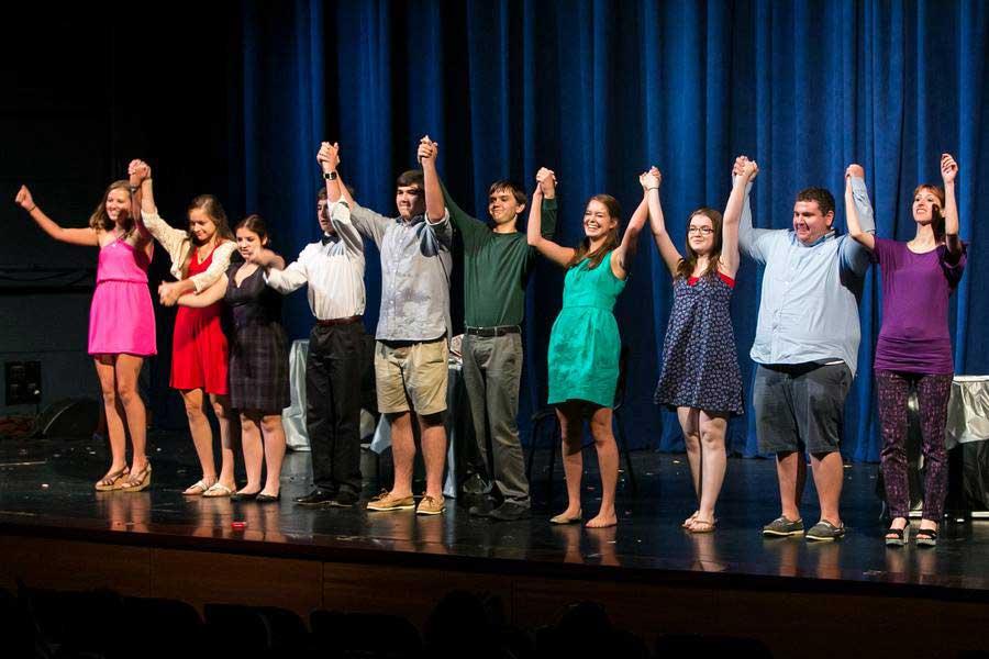 LFHS seniors prep for the annual kick-off to their theatre season