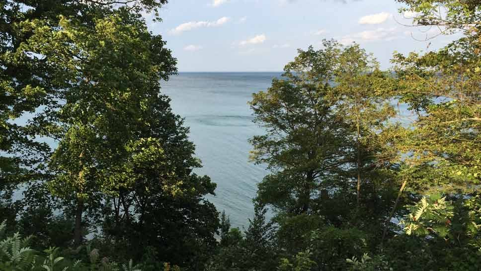 Sailor Rescued At Lake Bluff Beach