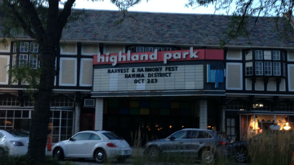 HP Mulls Plans For Highland Park Theater