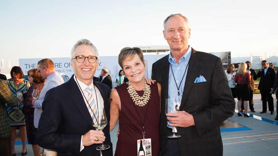 Tom Ealy, Lisa & Mike Galeski