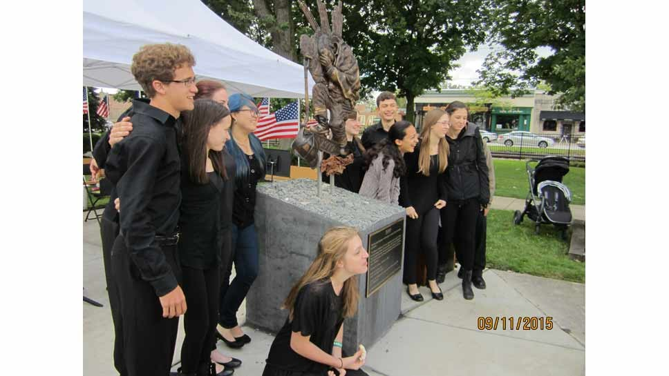 Highwood Honors 9/11 Memorial