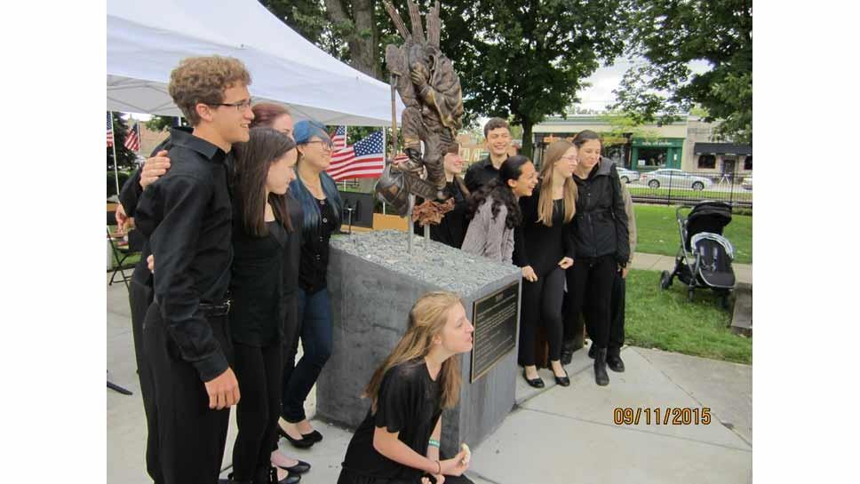Highwood Honors 9/11 Memorial