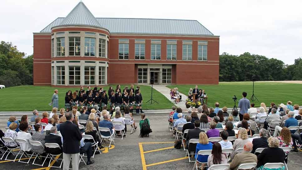 Woodlands Dedicates Campus Addition