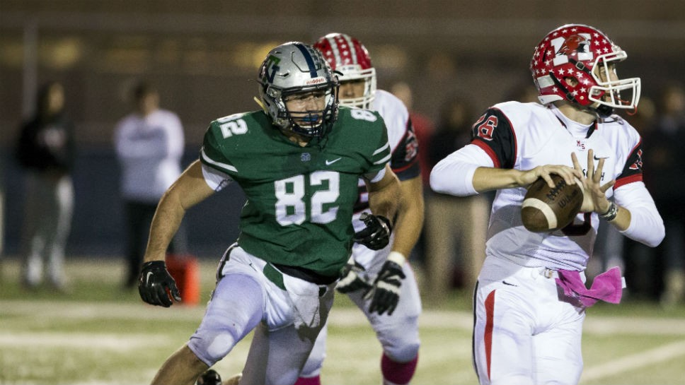 New Trier's Murphy steps up his game