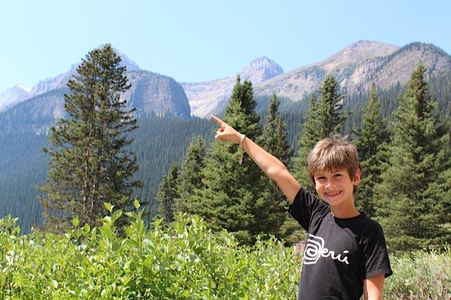 Alejandro Reyes at Banff National Park.
