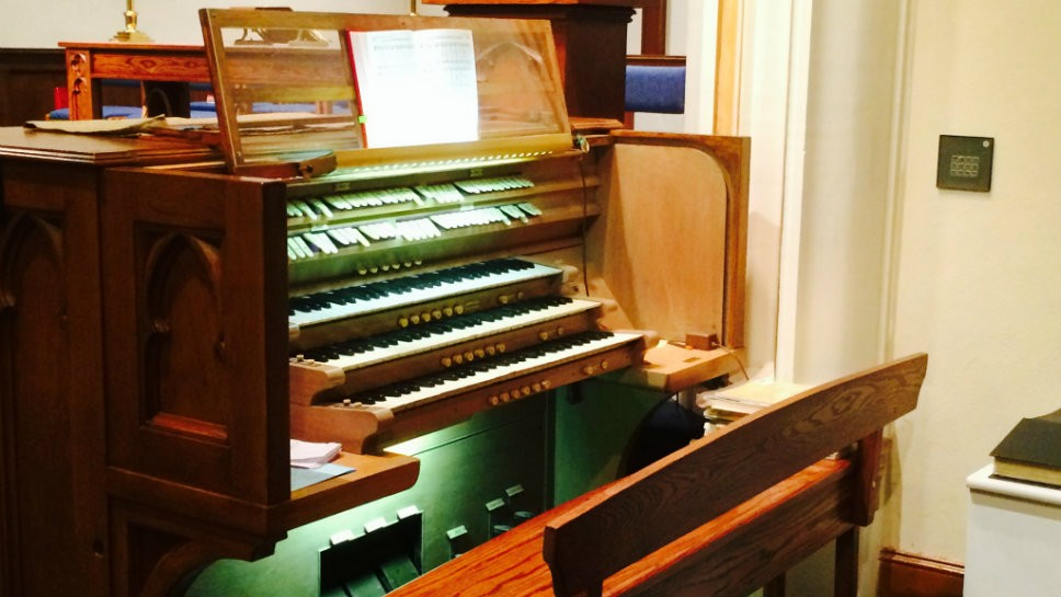 Donated Pipe Organ Finds New Life At Grace United