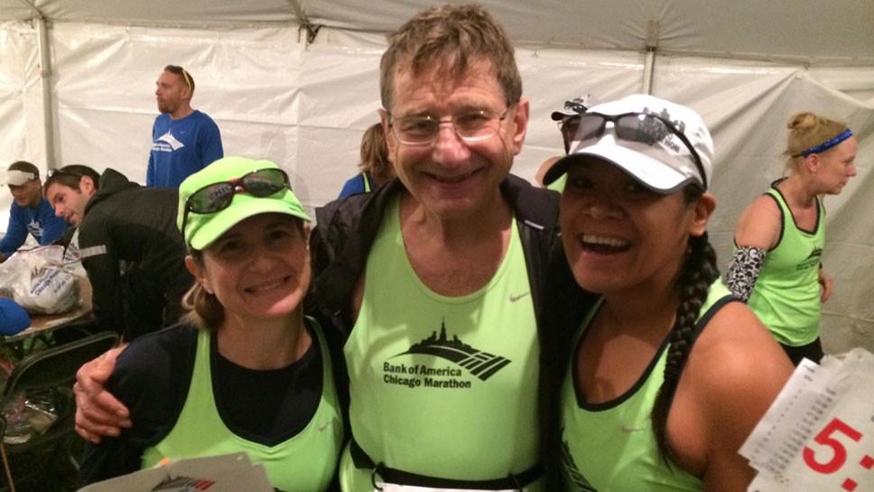 LB Runner, 79, Helps Marathoners Finish