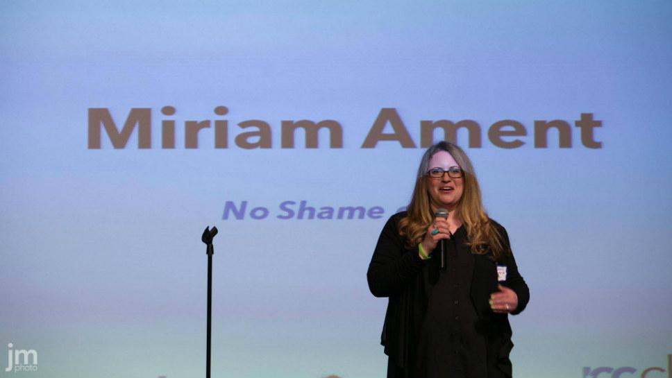 Miriam Ament, founder of No Shame on U