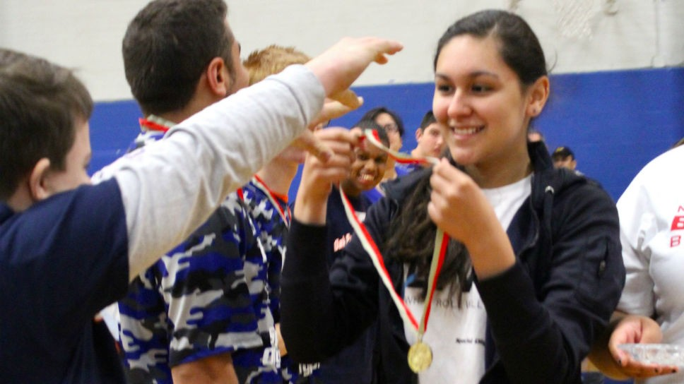 HPHS Hosts Special Olympics
