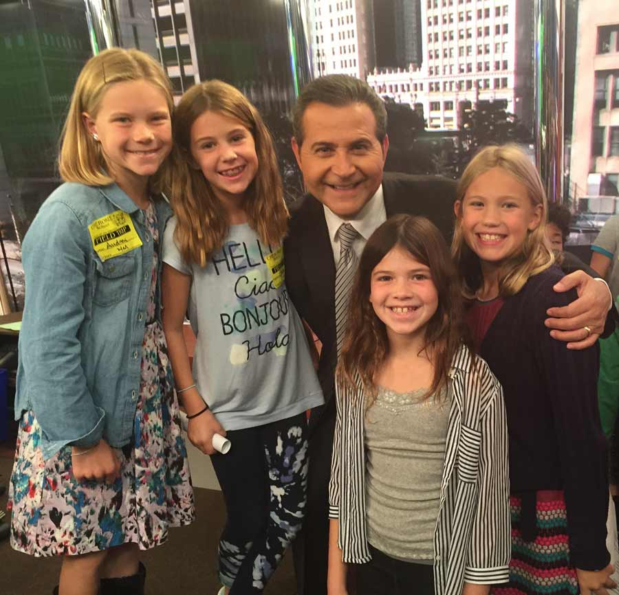 Cherokee Students Visit NBC 5 Studios