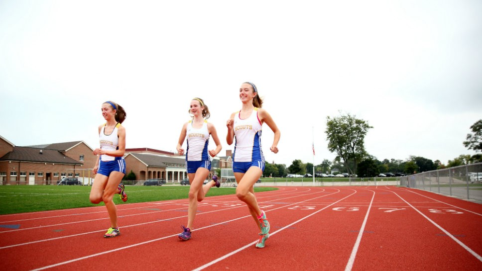 Schmidts form tightly knit running club