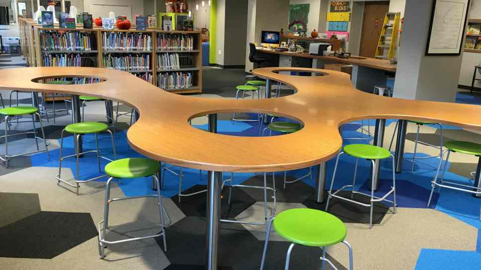 Classroom Furniture Grants ~ Central embarks on twenty first century learning