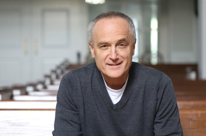 Mike Woodruff, senior pastor at Christ Church Lake Forest.