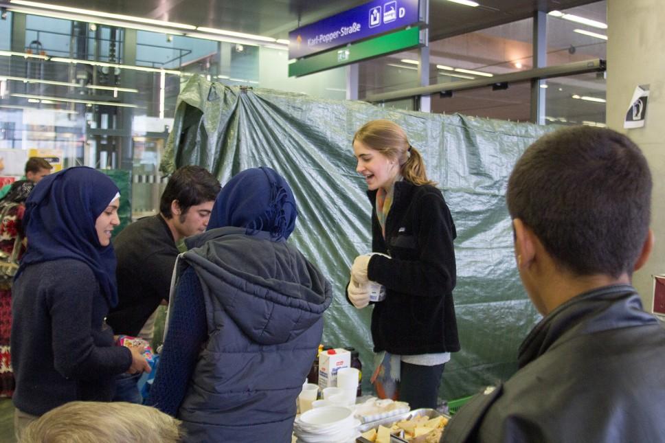 Woodlands Work with Refugees