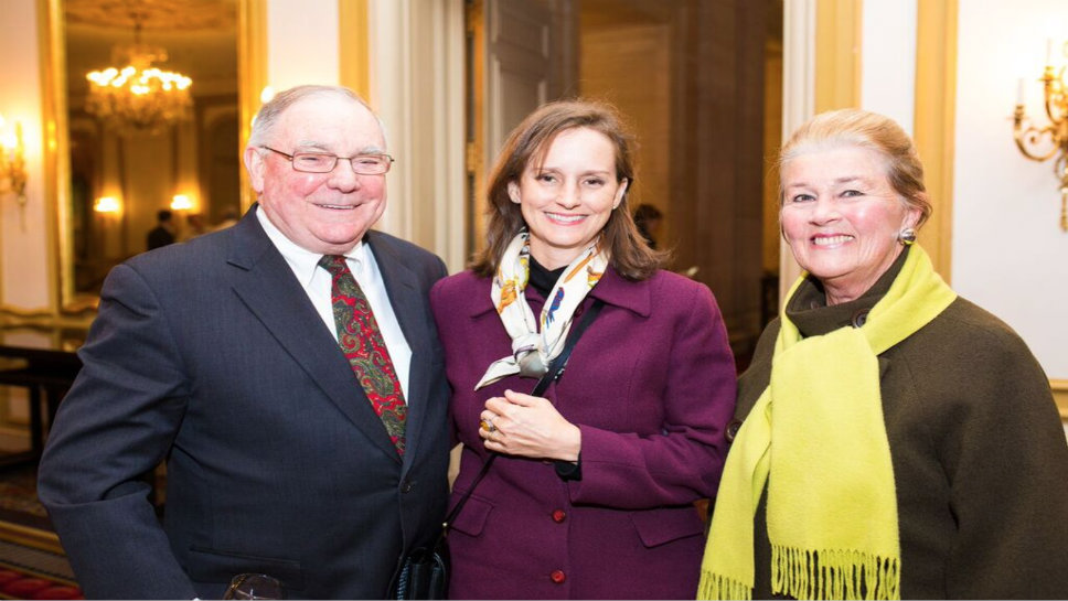 Ted Golitz, Charlotte Blome, and Kay Golitz Photography by Chris Murphy