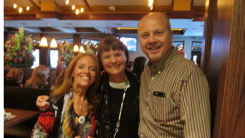 Carol Crane, Sally Thompson, Allen Zurek