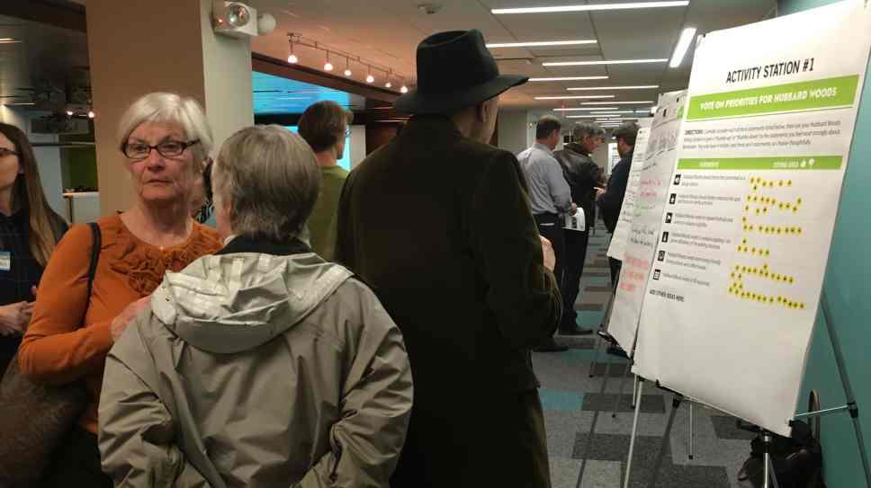 Winnetka residents weigh-in on downtown plan.