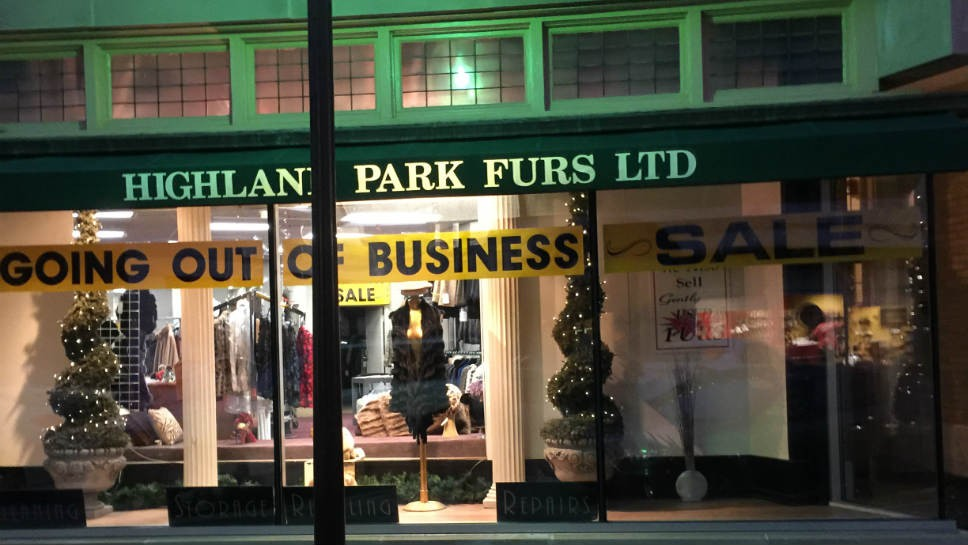 HP Furs Closing After 37 Years