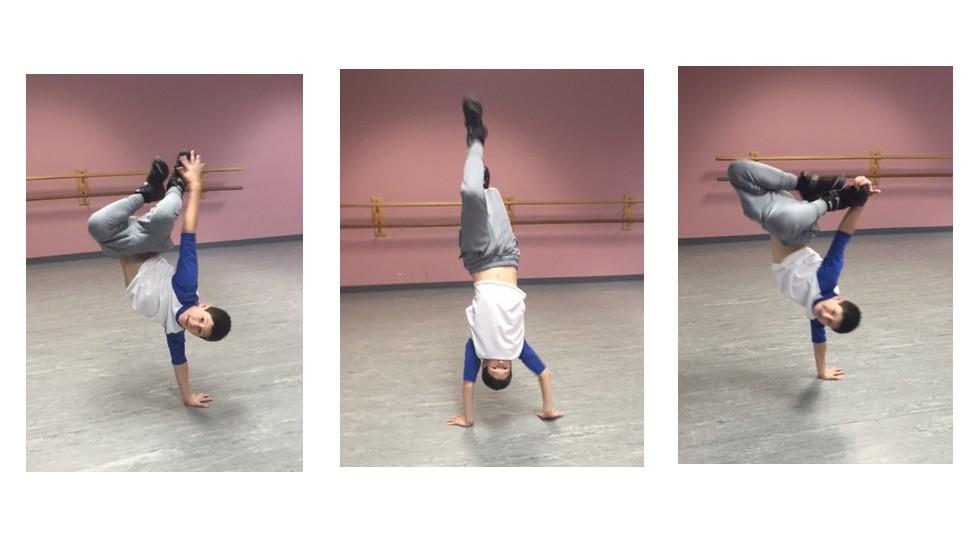 Boy Puts Heart & Soul Into Dance-a-Thon
