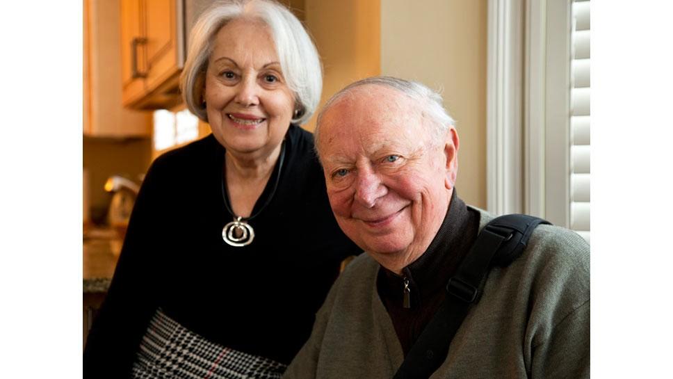 Roger & Pauline Mohr Win Temple Award