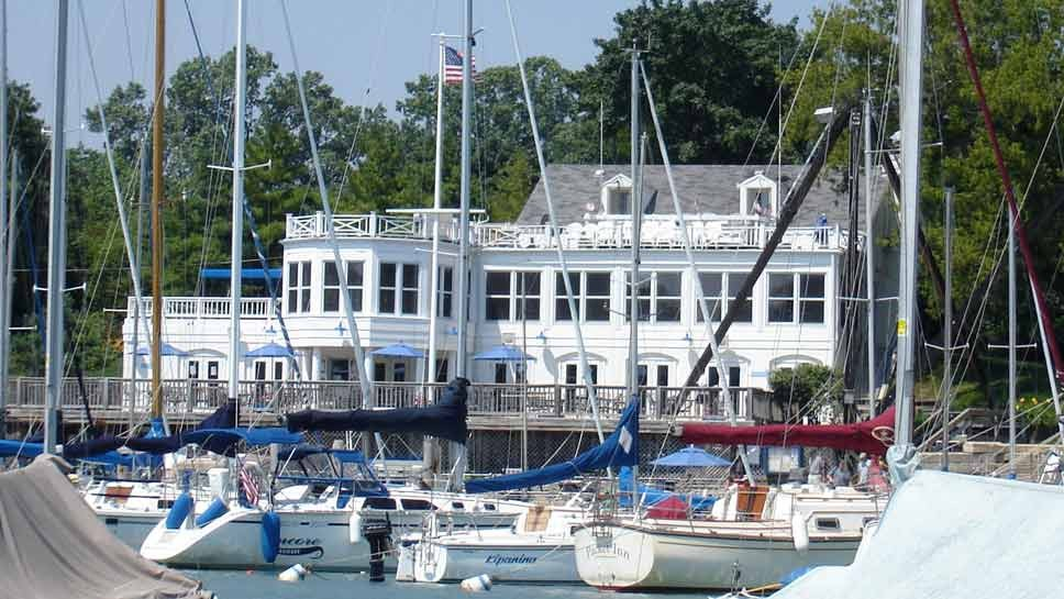 Sheridan Shore Yacht Club; photo from the club's website