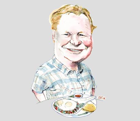 Egg Harbor Cafe Mike Farrell
