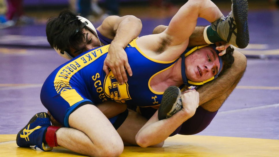 Wrestling has firm grip on LF's Griffin