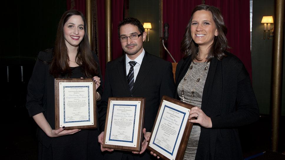 Lauren Socol, Mario Pineda, MD, Erin Pettijohn, MD