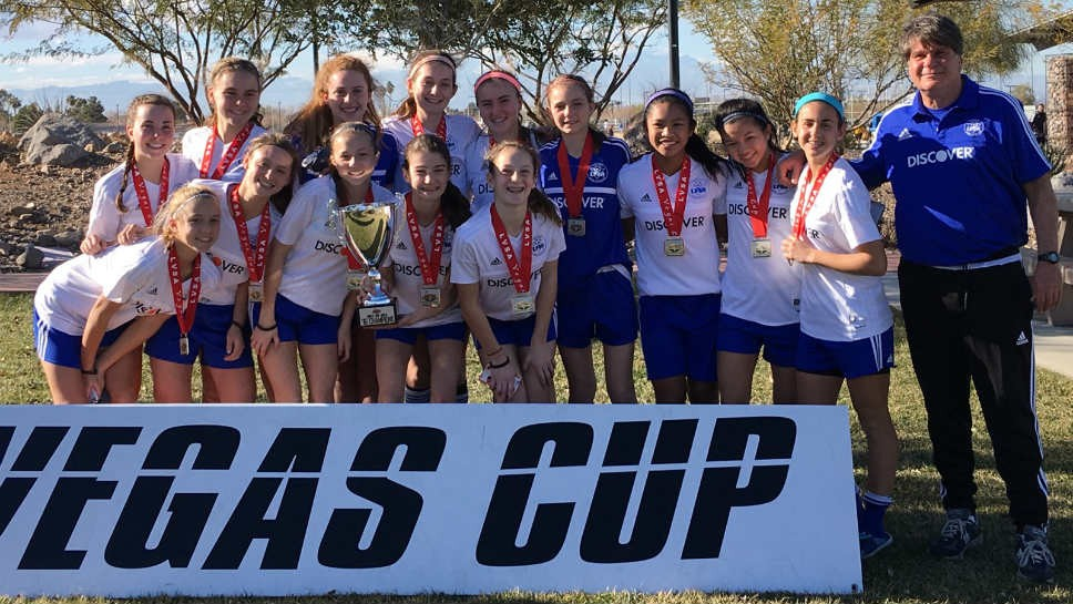 LFSA U14 Girls Select rises in national rankings